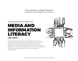 Media and Information Literacy Teaching Guide