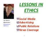 Lessons in Marketing Ethics!
