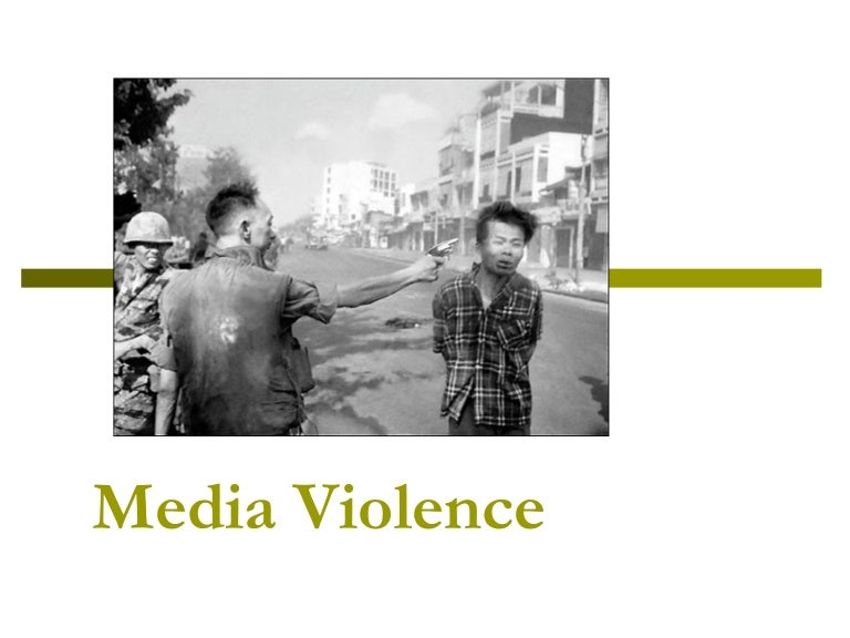 media violence and youth More than one thousand scientific studies and reviews conclude that significant exposure to media violence increases the risk of aggressive behavior in certain children, desensitizes them to violence and makes them believe that the world is a 'meaner and scarier' place than it is.