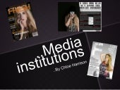 Media A Level Institutions