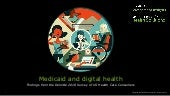 Medicaid and digital health