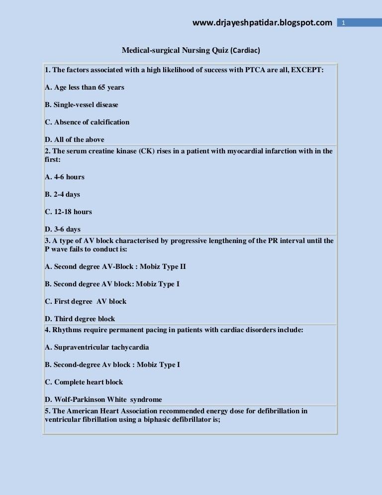 Nursing notes surgical pdf medical