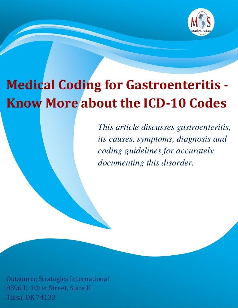giardia gastroenteritis icd 10