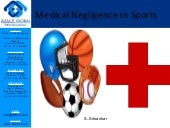Medical negligence in sports