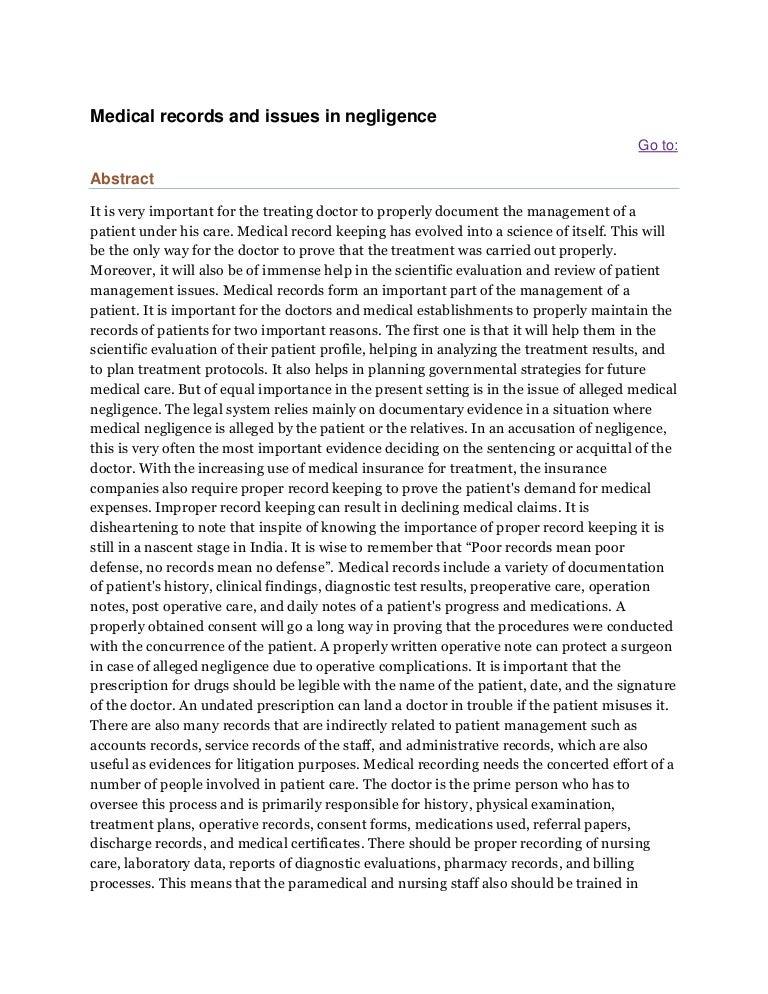 medicalrecordsandissuesinnegligence phpapp thumbnail jpg cb