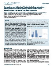 Unethical Practices in Pharma - Interesting Study from Pakistan