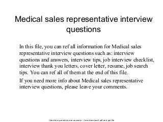 medical sales representative linkedin - Cover Letter For Medical Sales Representative