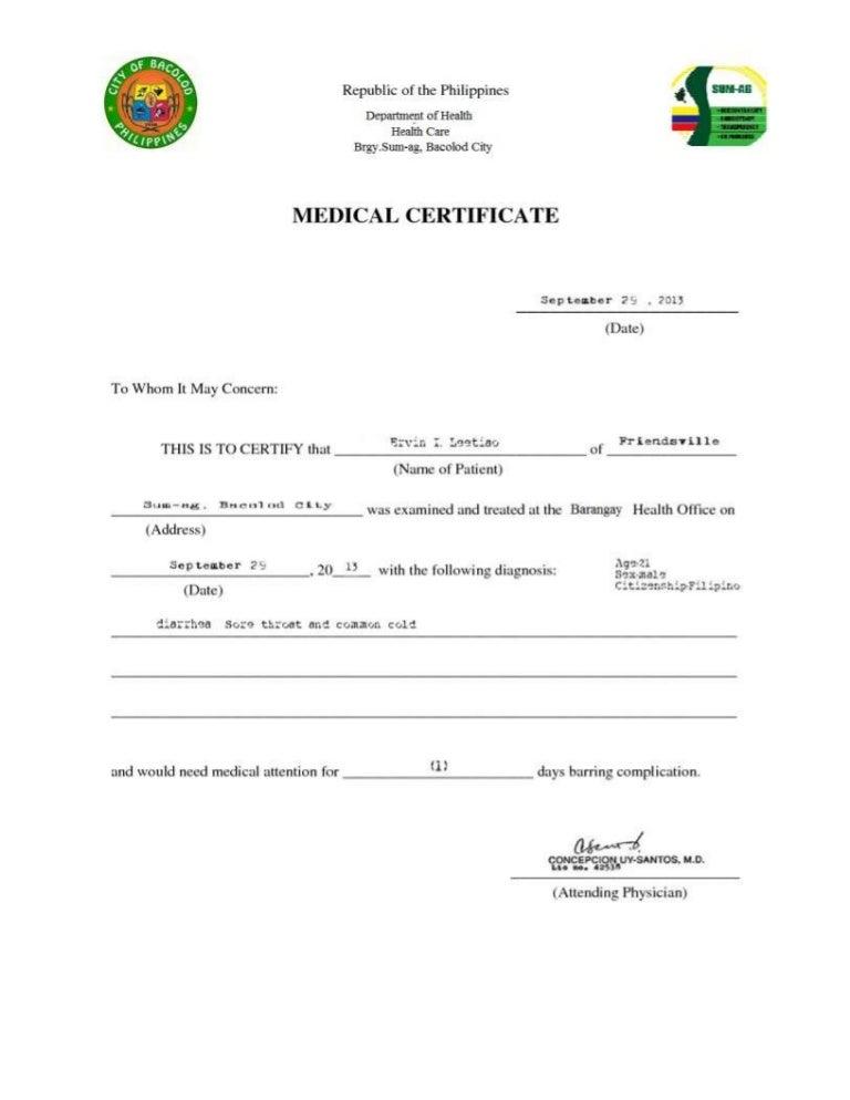 Medical city medical certificate sample juvecenitdelacabrera medical city medical certificate sample medical certificate philippines altavistaventures Gallery