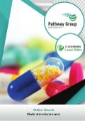 Medication Awareness, E-learning Pathway Courses, Pathway Group