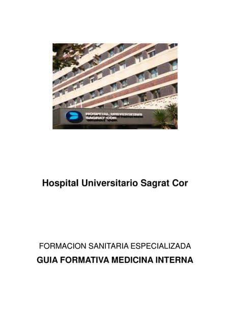 Itinerari formatiu medicina interna 2018 2019