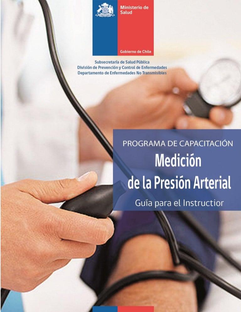 Técnica de medición de la presión arterial embarazo