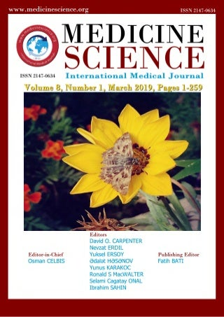 Medicine Science I International Medical Journal; E- Journal of March 2019; Volume 8, Issue 1