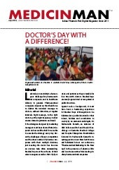 Doctor's Day with a Difference! - MedicinMan July 2018