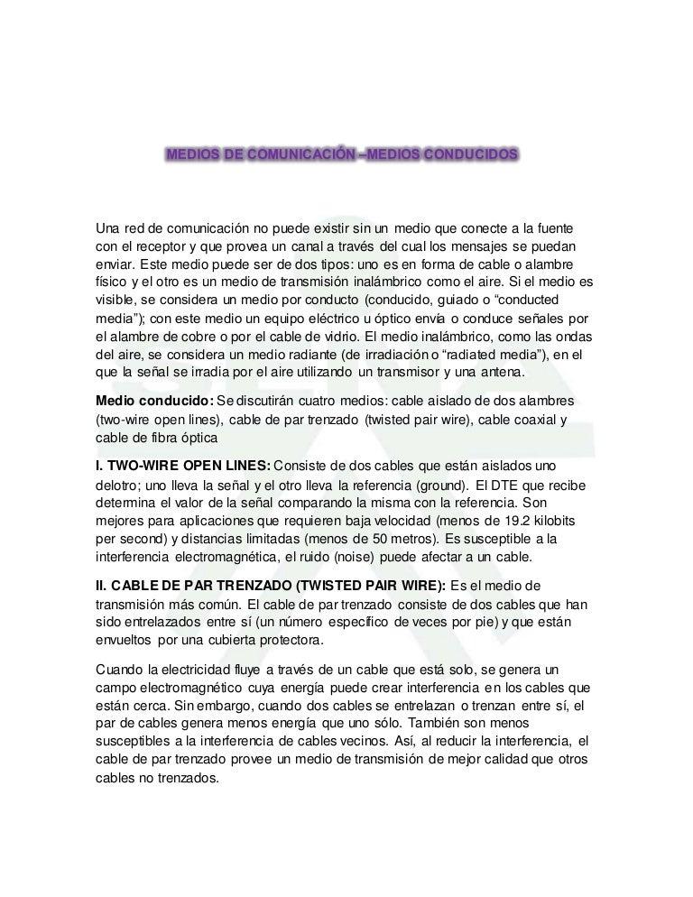 Medios de comunicación,transmisión,cable coaxial.