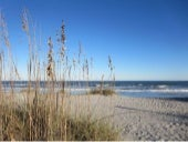 Meditation beach walk HIlton Head Island November
