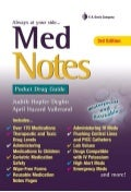 Med notes pocket drug guid