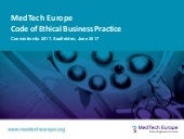 MedTech europe code of ethical business practice