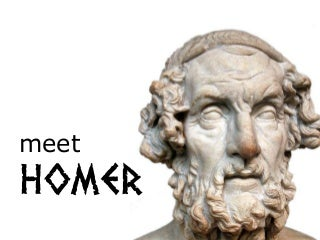 Meet Homer - Storytelling