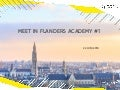 Meet in Flanders Academy #1 - Verleg je grenzen in de samenwerking met associaties