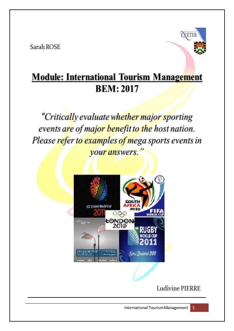 mega event essay