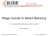 Mega Trends in Retail Banking