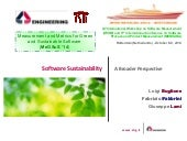 Software Sustainability: a Broader Perspective