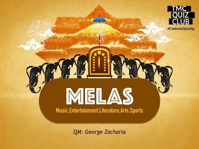 MELAS Quiz (April 2019) - QM: George Zacharia