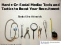 Hands-On Social Media: Tools and Tactics to Boost Your Recruitment