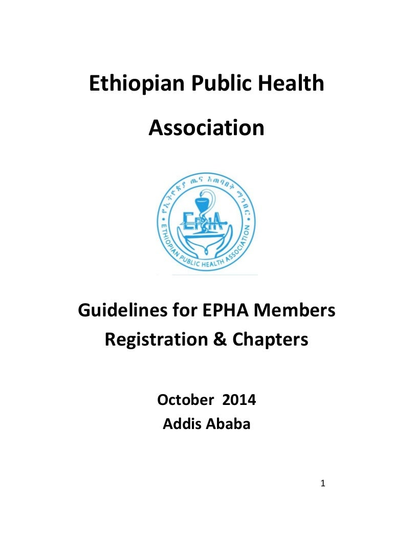Ethiopian public health association members registration and chapters falaconquin