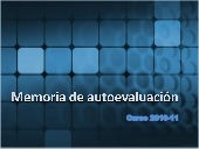 Memoria autoevaluacion presentación C.E.P. MARBELLA