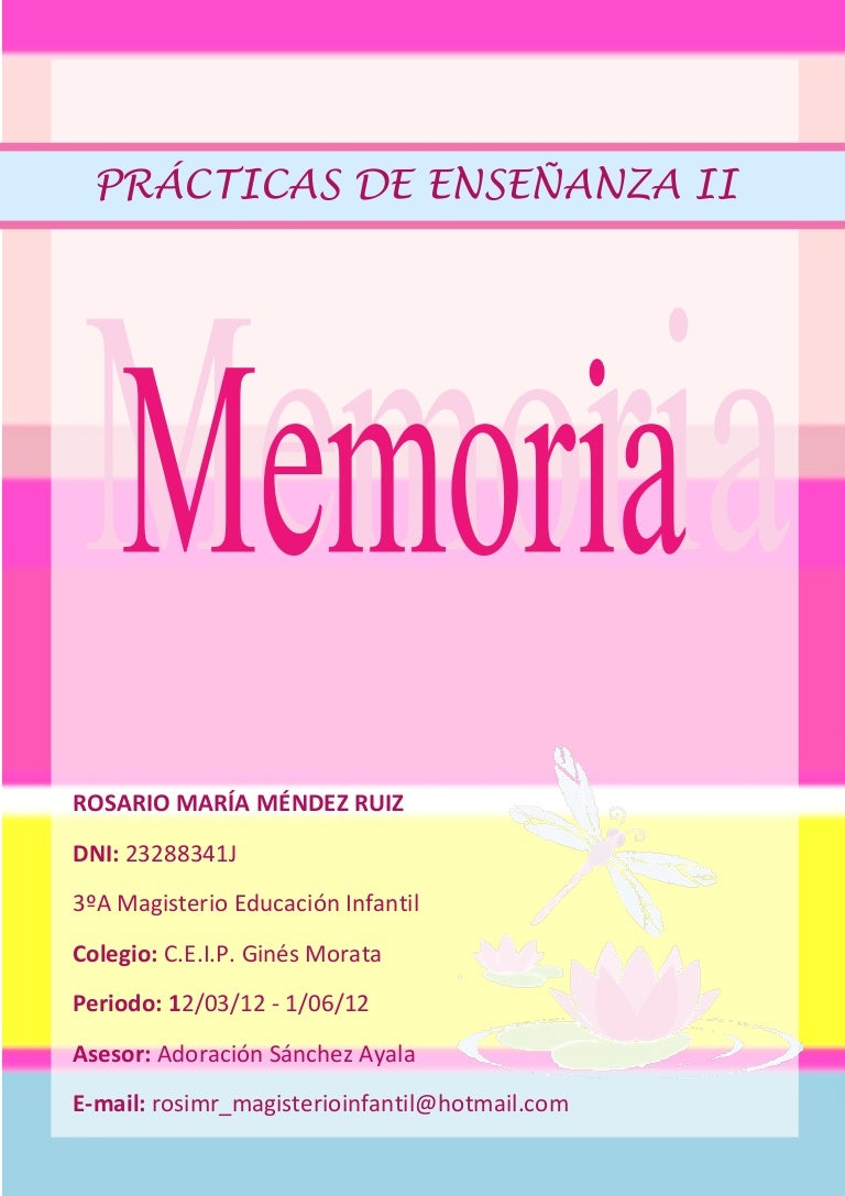 Memoria de prácticas