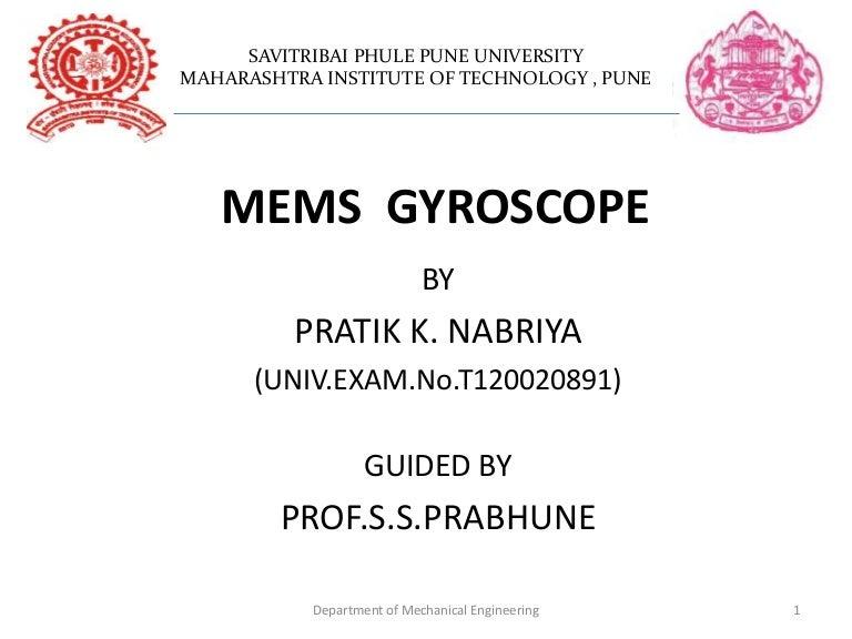 Microelectromechanical Systems Mems Gyroscope