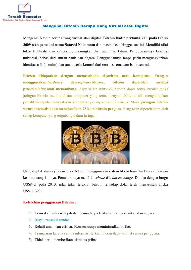 Mengenal Bitcoin Berupa Uang Virtual Atau Digital 1 Sistem Bisa Semua Bisnis Mengenalbitcoinberupauangvirtualataudigital 180320043519 Thumbnail 4cb1521520555