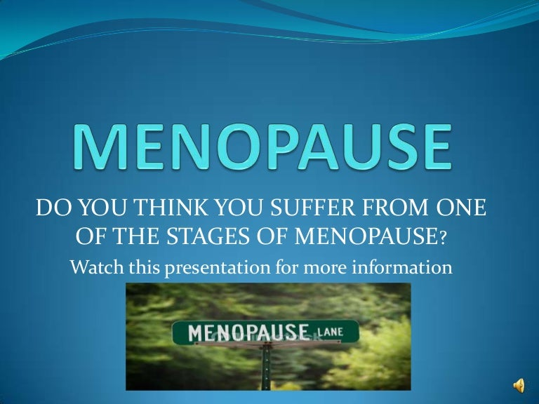 MENOPAUSE, Are you Irritable, Have Hot Flashes and Mood ...