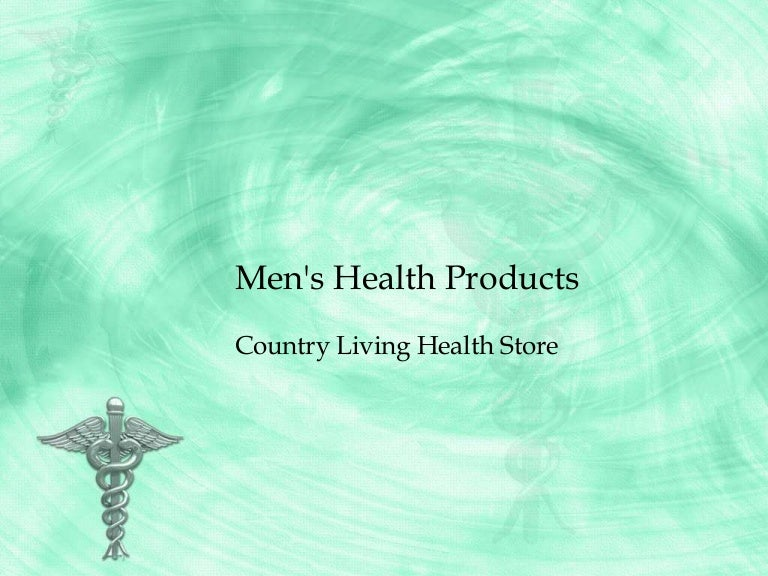 Men S Health Products