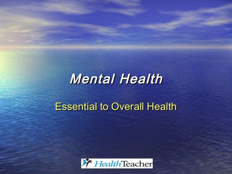 mental health powerpoint presentation template  Mental health ppt.