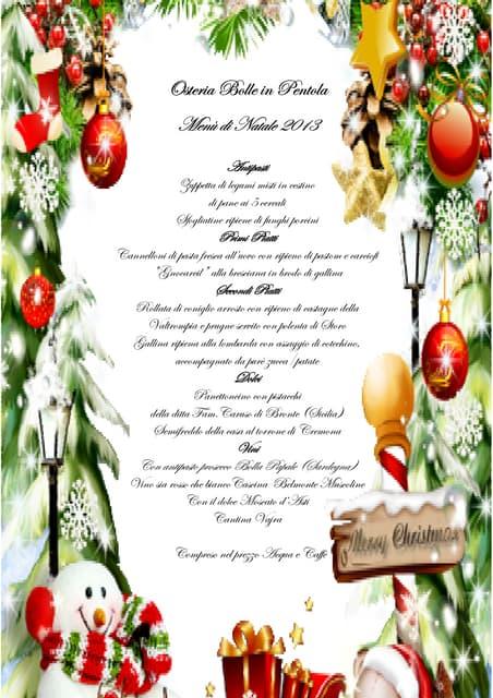 Menu Di Natale Da Stampare E Compilare.Personalizzare Un Template Di Word Il Menu Per Il Pranzo