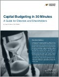 Mercer Capital | Valuation Insight | Capital Budgeting in 30 Minutes