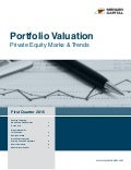 Mercer Capital's Portfolio Valuation: Private Equity Marks and Trends | Q1 2016