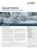 Mercer Capital's Value Focus: Professional Services Industry | Mid-Year 2015
