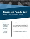 Mercer Capital's Tennessee Family Law | Q1 2018 | Valuation & Forensic Insights for Attorneys