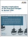 Valuation Implications of the Proposed Changes to Section 2704