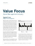 Mercer Capital's Asset Management Industry Newsletter | Q1 2013 | Focus: Mutual Fund Companies