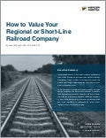 How to Value Your Regional or Short-Line Railroad Company