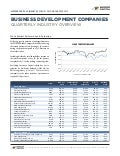 Mercer Capital's Business Development Companies Quarterly Newsletter | Q2 2012