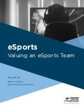 Mercer Capital | eSports: Valuing an eSports Team