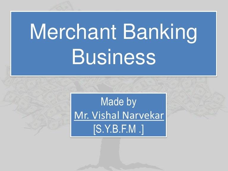merchant banking services wikipedia
