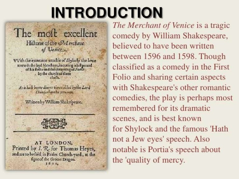 essay on shylock In the merchant of venice shylock is portrayed as both a victim and a villain shakespeare shows that he is firstly a villain as he is spoken about in a conversation between salarnio and salerio.