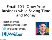 Email 101: Grow Your Business While Saving Time and Money