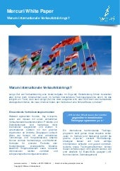 Mercuri White Paper - Internationale Verkaufstrainings